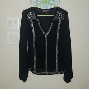 Rock & Roll Cowgirl Sheer Blouse